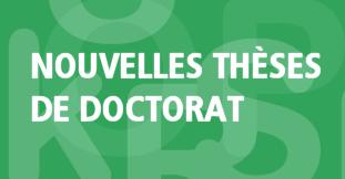 Deux nouveaux Docteurs à l'université Paris Nanterre