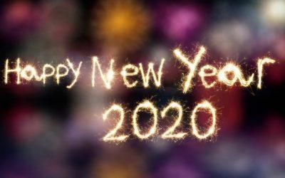 Heureuse année  2020 !